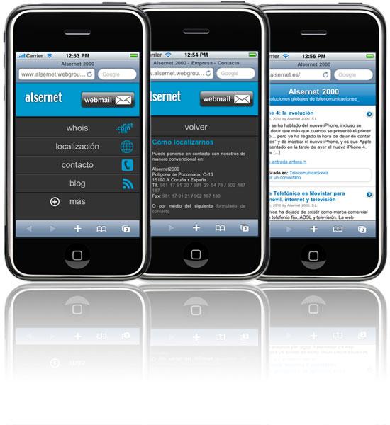 Alsernet 2000 para su dispositivo móvil